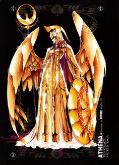 Download Saint Seiya: Future Studio ~ Athena Goddess of Wisdom (2525x3503) - Minitokyo