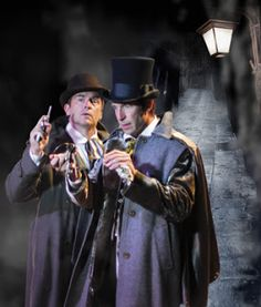 Watson and Sherlock.  Sherlock Holmes: The Final Adventure came to be