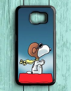 Snoopy And The Peanuts Samsung Galaxy S6 Case