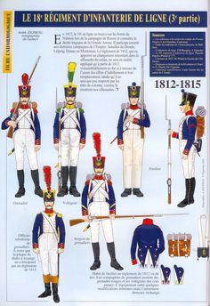 Il 18 rgt. fanteria di linea francese