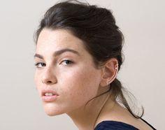 Rose Gold Ear Cuff. Minimal Ear Cuff. Gemstone by knobbly on Etsy
