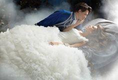 Vestido de novia inspirado en la Bella Durmiente - Foto Alfred Angelo