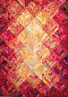 Candy Queen Sunset Quilt Kit Kaffe Fassett Collective Fabrics | eBay