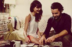 Free people love story between Sheila Márquez and Christopher Abbott | Cuidar de tu belleza es facilisimo.com