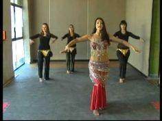 Leila Loberse, pasos basicos de la danza arabe,brazos y manos,paso basico de cadera - YouTube