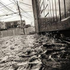 Raining in Santo Domingo
