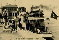 Kadıköy Pier - Kadıköy İskelesi (1940) #istanbul #istanlook