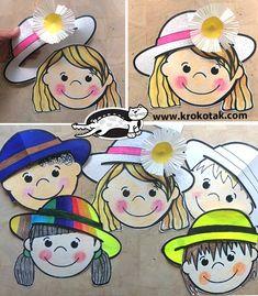 Preschool Themes, Craft Activities For Kids, Preschool Crafts, Projects For Kids, Fun Crafts, Paper Crafts, Summer Crafts For Toddlers, Toddler Crafts, Diy For Kids