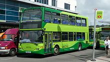 Isle of Wight - A Southern Vectis bus at Newport Bus Interchange