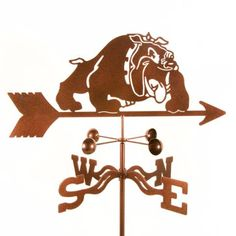 Mississippi State Bulldogs weathervane