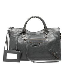 Balenciaga Classic City Gris Fossile - Women's Classic City Handbag