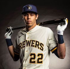 As the Brewers extended Christian Yelich on Tuesday, the financial impact of Yelich's deal remains unclear for this small-market franchise. Baseball Jersey Outfit, Baseball Boys, Angels Baseball, Mlb Players, Baseball Players, Baseball Tickets, Baseball Scores, Baseball Teams, Baseball Senior Pictures