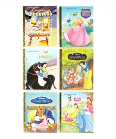 Take a look at this Disney Princesses Hardcover Set on zulily today!