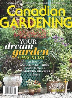 Early Summer Your dream garden checklist; a royal rhodo collection; modern grasses and more! Quebec, Lush, Water Sculpture, Sun Care, Garden Borders, Library Card, Water Garden, Dream Garden, Garden Inspiration