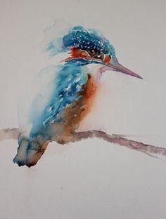painting for beginners watercolor results - ImageSearch Watercolor Bird, Watercolor Animals, Watercolour Painting, Watercolors, Painting Fur, Painting & Drawing, Watercolour Tutorials, Art For Art Sake, Wildlife Art