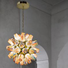 Sugary treats influence Campana brothers' Candy Collection lamps for Lasvit