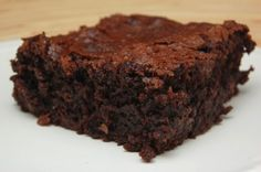 Lekker brownie recept