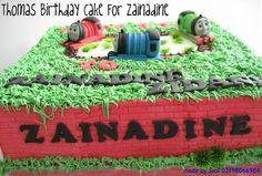 HONEY CAKES: Thomas The Train Birthday Cake For Zainadine