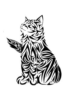 cat silhouete • Buy this artwork on apparel, stickers, phone cases, and more.