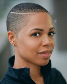 Nice shaved hair designs for women with black skin Natural Hair Short Cuts, Short Natural Haircuts, Tapered Natural Hair, Short Hairstyles For Women, Short Hair Cuts, Natural Hair Styles, Natural Curls, Tapered Haircut For Women, Big Chop Hairstyles