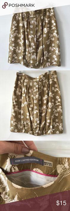 Gold skirt Gold skirt Boden Skirts