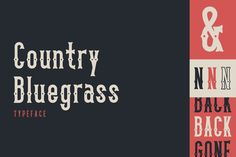 Country Bluegrass by thomas_ramey on Creative Market