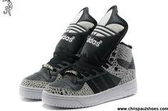 Buy Adidas X Jeremy Scott Big Tongue Villi Shoes Carton Black Your Best Choice