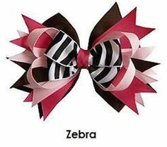 Perfect Zebra Boutique 5 Inch Hair Bow