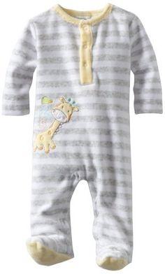 ABSORBA Unisex-Baby Newborn Neutral Velour Footie ABSORBA, http://www.amazon.com/dp/B007SU30C0/ref=cm_sw_r_pi_dp_qwaLqb1DSB7WZ