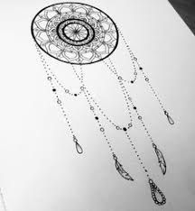 Image result for easy dream catchers to draw