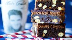 Liten langpanne (ca. Norwegian Food, Norwegian Recipes, Cake Recipes, Dessert Recipes, No Bake Cake, Brownies, Cravings, Peanut Butter, Deserts