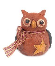 Star Owl Figurine #zulily #zulilyfinds