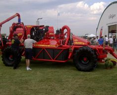 Nuhn Lagoon Crawler at COFS Farm Show, Monster Trucks, Outdoor, Outdoors, Outdoor Games, The Great Outdoors