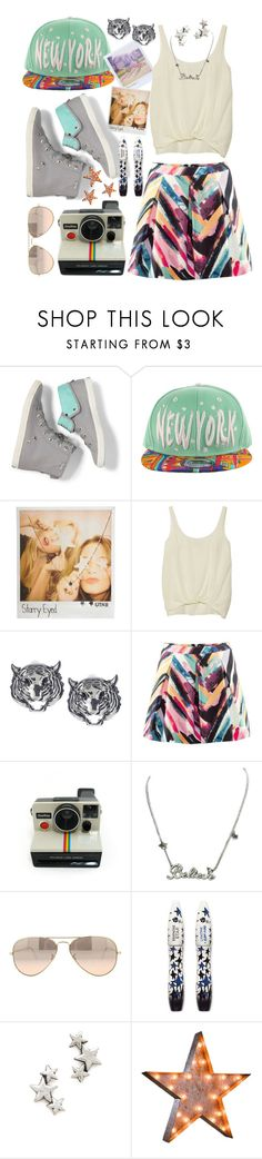 """""Say cheese"" .. 1 .. 2 .. 3 .. Cha!!"" by minidolly ❤ liked on Polyvore featuring Keds, Polaroid, Kitsch, Elizabeth and James, Disney Couture, Ray-Ban, Lancôme, Avant Garde Paris and Vintage Marquee Lights"