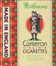 Cameron Cigarettes