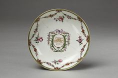 LavishShoestring.com | Dish        Place of origin:        China (made)      Date:        1787 (made)      Artist/Maker:        Unknown (production)      Materials and Techniques:        Porcelain painted in enamels and gilt