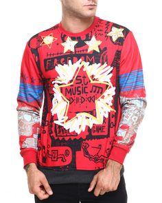 Find 5-Star Crewneck Sweatshirt Men's Sweatshirts & Sweaters from Buyers Picks & more at DrJays. on Drjays.com