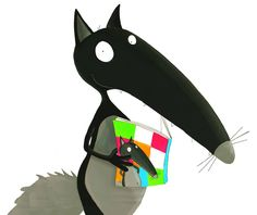 Loup lit Loup ! School Themes, Red Riding Hood, Art Plastique, Little Red, Teaching Kids, Pikachu, Clip Art, Album, French