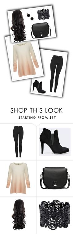 """Casual today"" by m-sisic ❤ liked on Polyvore featuring Topshop, Joie and rag & bone"
