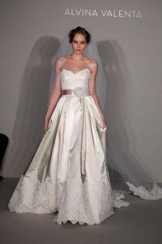 Alvina Valenta Spring 2012, wedding dress gown