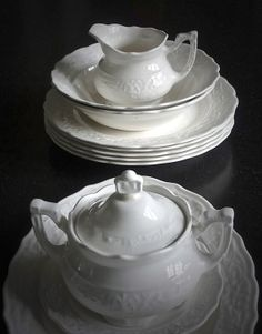 Vintage Chippy Ironstone Collection