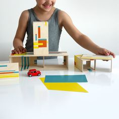 Fun & Games for Little Architects #MONOQI
