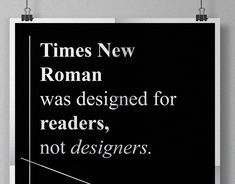 Typography Poster for Times New Roman Roman Fonts, Times New Roman, Random Quotes, Typography Poster, Layout Design, Letter Board, Editorial, Behance, Posters