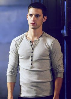 Milo Ventimiglia from Heros. I love that cute crooked smile. :)