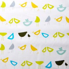 Little Birds Blue from the Havana collection  by simplififabric, $4.25