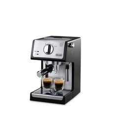 Whatever your preference, single or double espresso, cappuccinos, or lattes, the De'Longhi ECP3420 15 Bar Pump Espresso Machine ensures barista quality results at home so you can enjoy your favorite c