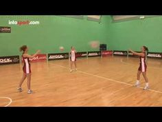 Netball 3 Point Passing Drill- Catch and Release - YouTube