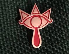 Sheik Sheikah Symbol Enamel Lapel Pin - Zelda / Super Smash Bros