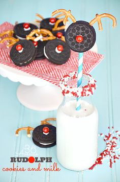 Rudolph Christmas Cookies
