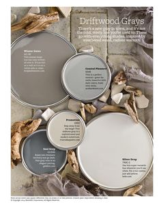 Neutral Paint Color Scheme - Gray Warm Tones - Interior Home Painting Ideas